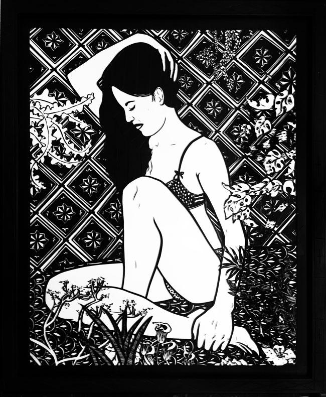 saatchi gallery Oona(AfterMatisse)