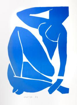saatchi Blue Nude - Matisse