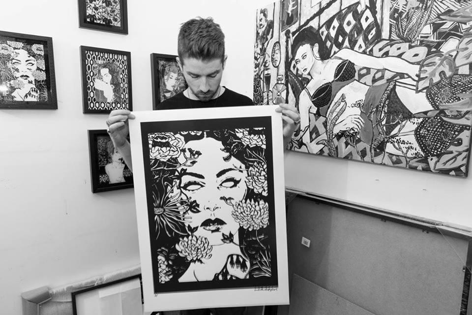 New Print Release/ Saatchi Gallery Show.